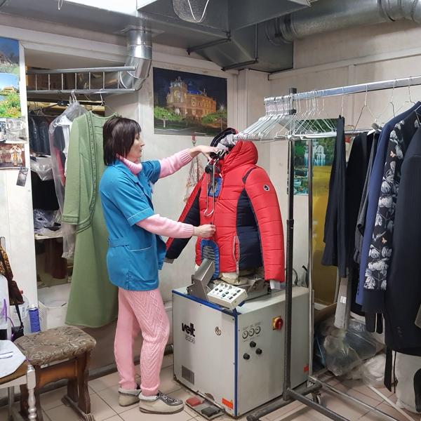 Химчистка куртки в Рязани