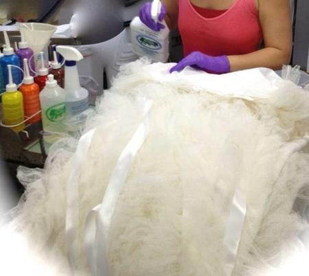 Химчистка свадебного платья в Рязани