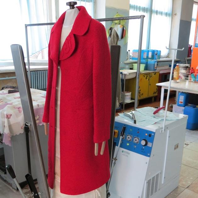 чистка пальто